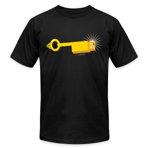 Men's AA T-Shirt - Dongle - Men's T-Shirt by American Apparel