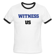 T-Shirts ~ Men's Ringer T-Shirt ~ Witness Us Tee's