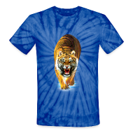 T-Shirts ~ Unisex Tie Dye T-Shirt ~ Tiger