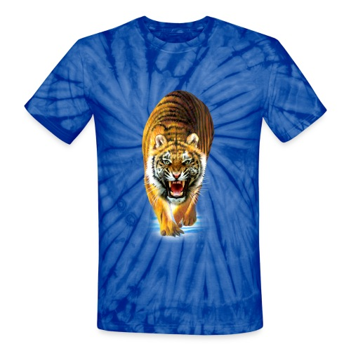 Tiger - Unisex Tie Dye T-Shirt
