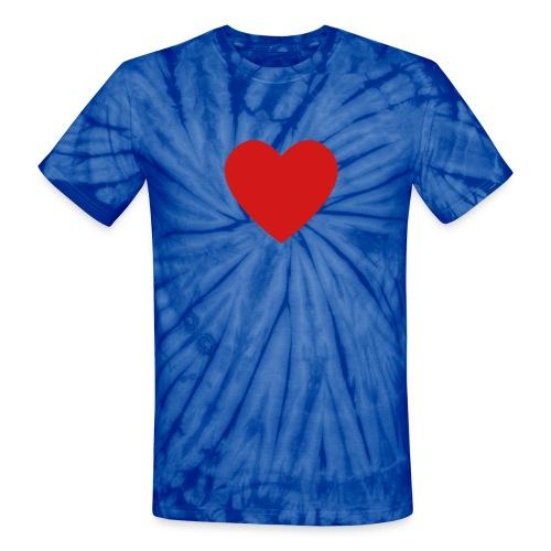 The Patriotic Tee - Unisex Tie Dye T-Shirt