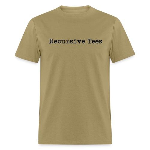 Recursive Tees (Front on choice) - Men's T-Shirt