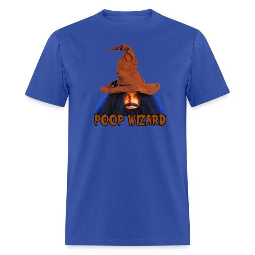 Poop Wizard - Men's T-Shirt