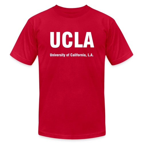 UCLA, University of California - Men's Fine Jersey T-Shirt