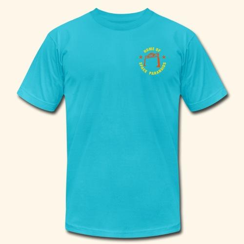 Flynn's (back- and frontprint) - Men's Fine Jersey T-Shirt