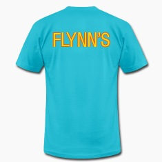 Turquoise Flynn's T-Shirts