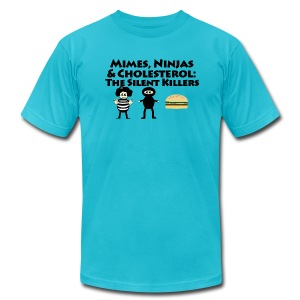 Silent Killers - Men's Fine Jersey T-Shirt