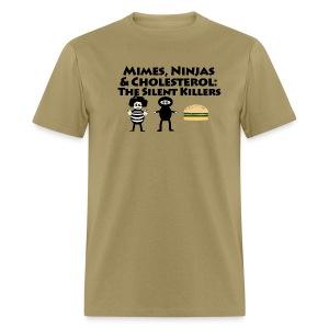 Silent Killers - Men's T-Shirt
