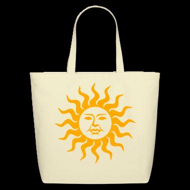 Sun Face Tote