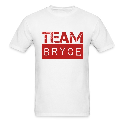 Team Bryce White T-Shirt - Men's T-Shirt