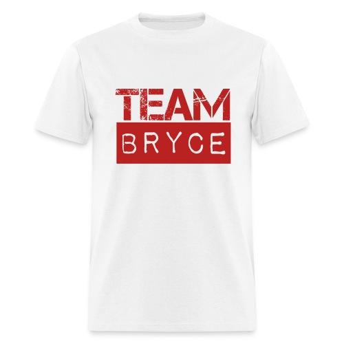 Team Bryce White T-Shirt - Men's T-Shirt