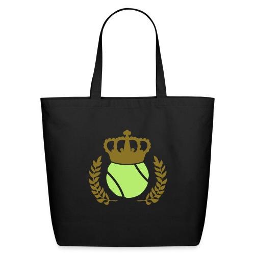 Tennis Champions Reflective Gold Print - Eco-Friendly Cotton Tote