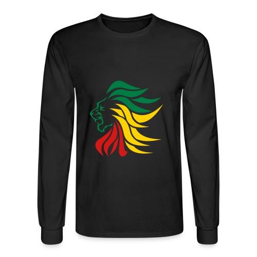 Str8 uP Rasta print - Men's Long Sleeve T-Shirt