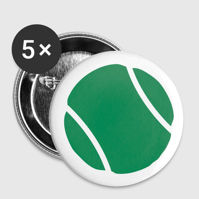 White tennis ball Buttons - Small Buttons