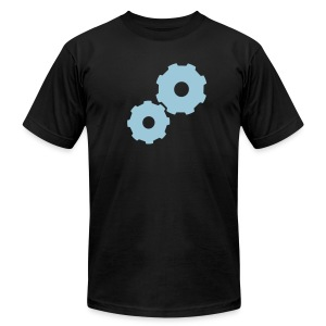 Gears Inside - Men's T-Shirt by American Apparel