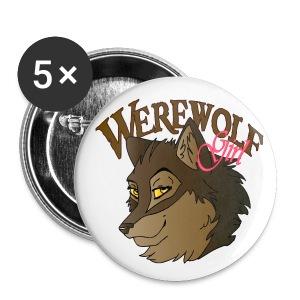 Werewolf Girl - Small Buttons