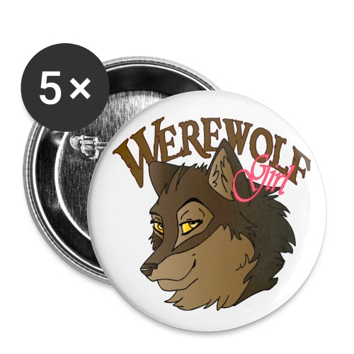 Werewolf Girl - Small Buttons