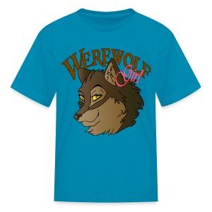 Werewolf Girl - Kids' T-Shirt