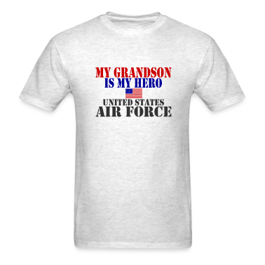 Ash  GRANDSON HERO USAF T-Shirts
