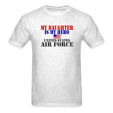 Ash  DAUGHTER HERO USAF T-Shirts
