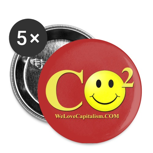 A HAPPY CO2 TO YOU TOO! (small) - Small Buttons