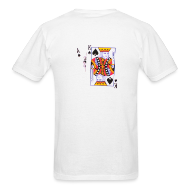 White big slick T-Shirts