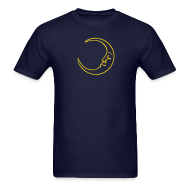 T-Shirts ~ Men's T-Shirt ~ Moon Tee