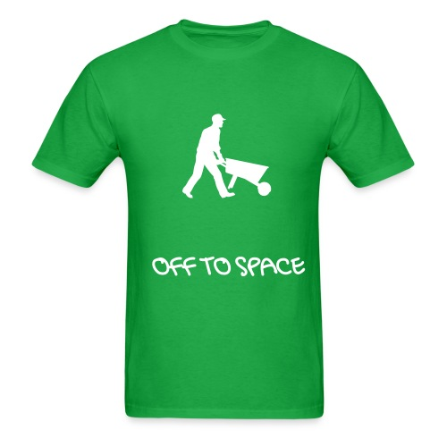 off to space tee - Men's T-Shirt