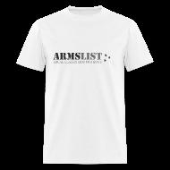 T-Shirts ~ Men's T-Shirt ~ ARMSLIST Logo Tee