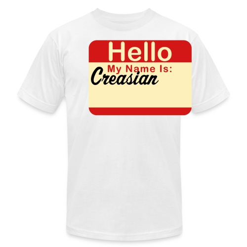 My name is: Creasian - Men's Fine Jersey T-Shirt