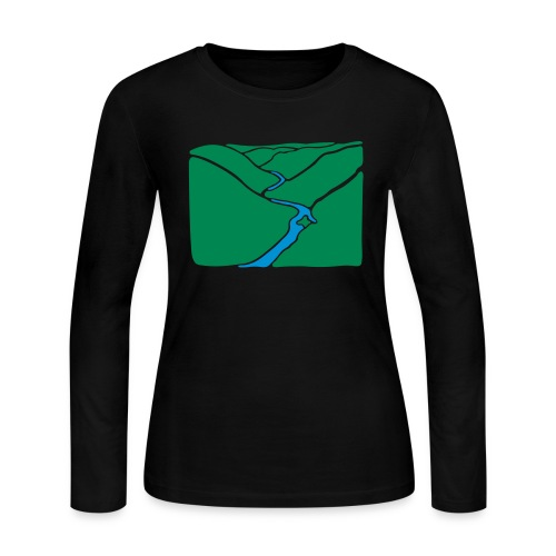 PA Grand Canyon - Women's Long Sleeve Jersey T-Shirt