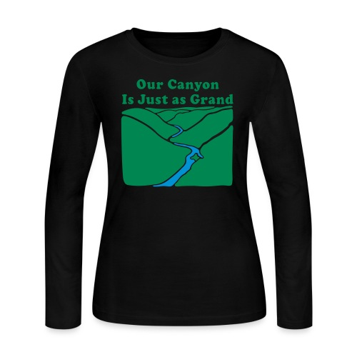 Our Canyon is Just as Grand - Women's Long Sleeve Jersey T-Shirt