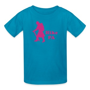 Hike PA Girl - Kids' T-Shirt