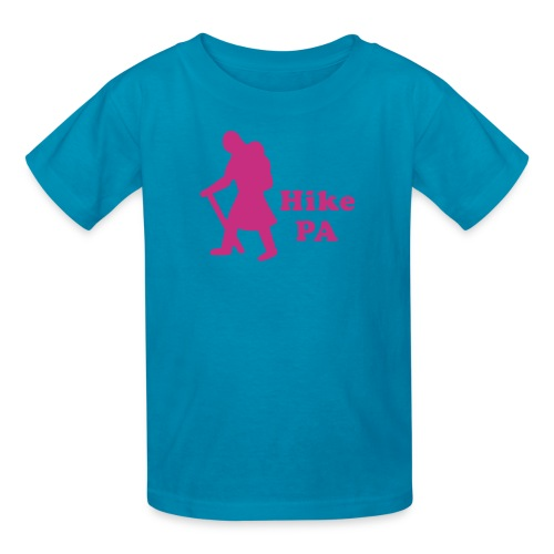 Hike PA Girl - Kids' T-Shirt