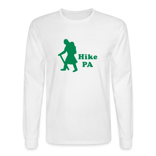 Hike PA Girl - Men's Long Sleeve T-Shirt