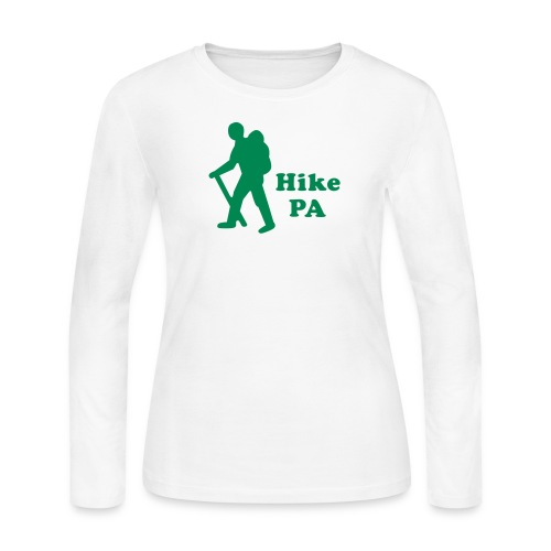Hike PA Guy - Women's Long Sleeve Jersey T-Shirt