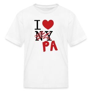 I Love (PA) Pennsylvania - Kids' T-Shirt