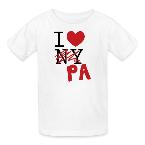 I Love (PA) Pennsylvania - Kids' T-Shirt