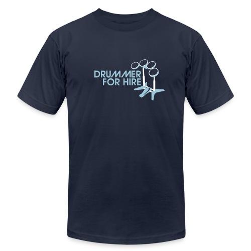 Drummer for Hire - Rockband Tee - Men's Fine Jersey T-Shirt