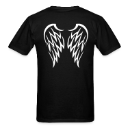 T-shirts ~ T-shirt pour hommes ~ Angel wings