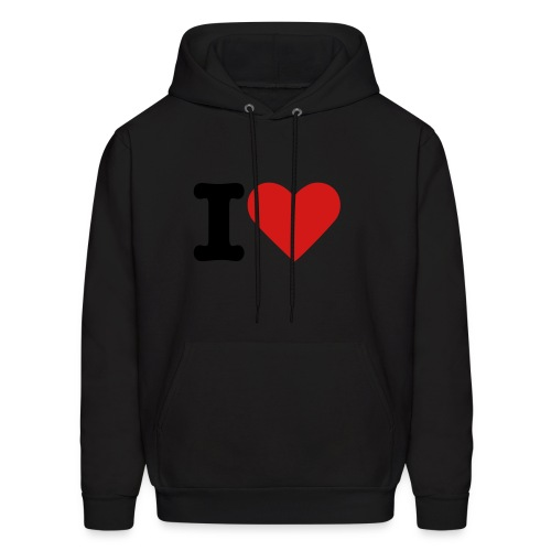 Like a boss love - Men's Hoodie