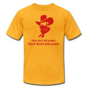 Chuck Norris AA - Men's Fine Jersey T-Shirt