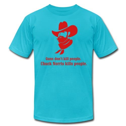 Chuck Norris AA - Men's  Jersey T-Shirt