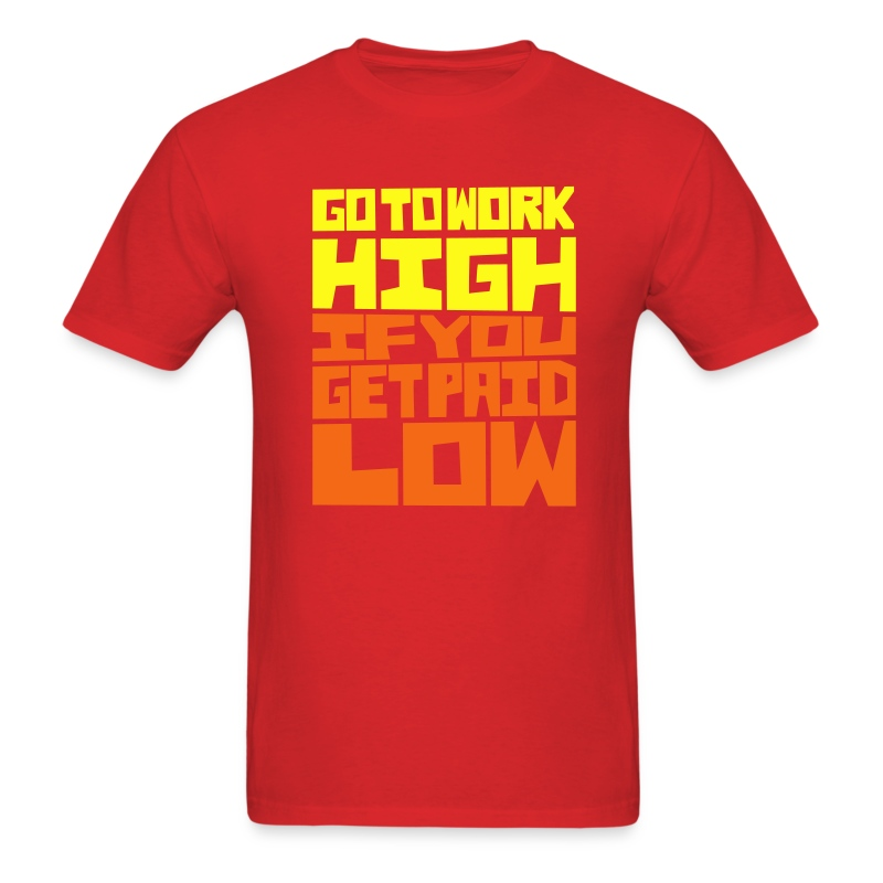High Low - Men's T-Shirt