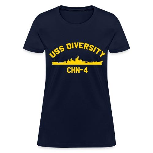 USS Diversity - Women's T-Shirt