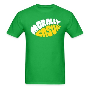 Morally Casual (fuzzy) - Men's T-Shirt