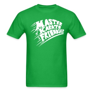 Master of Karate and Friendship - Men's T-Shirt