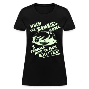 Zombie Enthusiast - Women's T-Shirt