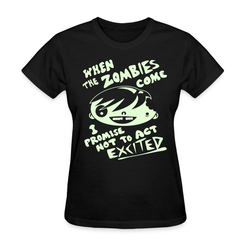 Zombie Enthusiast - Women's T-Shirt