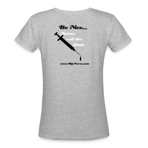 Call Shots, V Neck T - Women's V-Neck T-Shirt